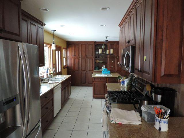 De keuken (met gasfornuis)