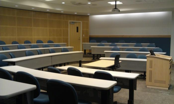 Een collegezaal