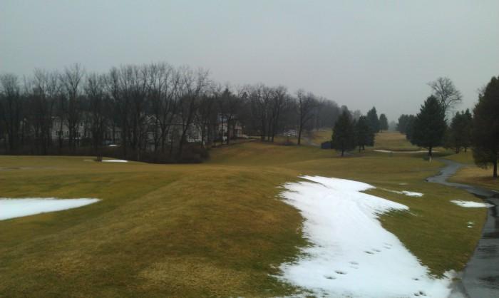 De golfbaan