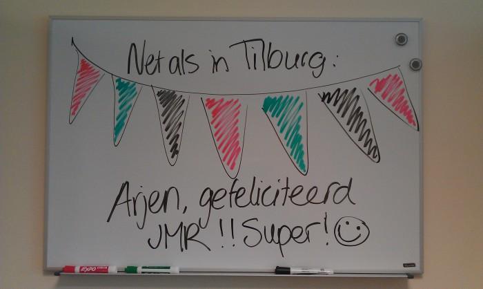 Gefeliciteerd Arjen!!