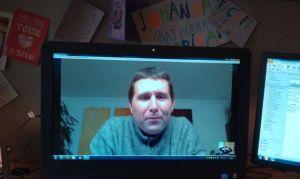 Skypen met Michiel