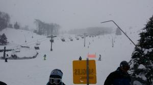 Skien in de sneeuw!