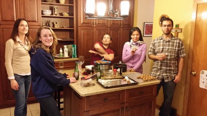 Potluck - naborrelen in de keuken
