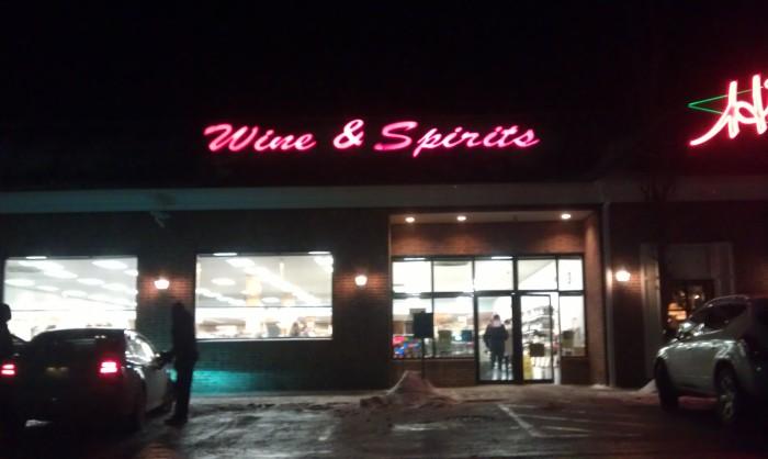 Wine and Spirits store
