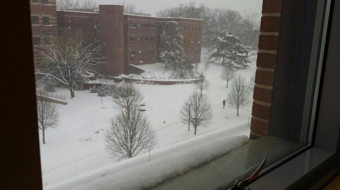 Dit was in de winter...