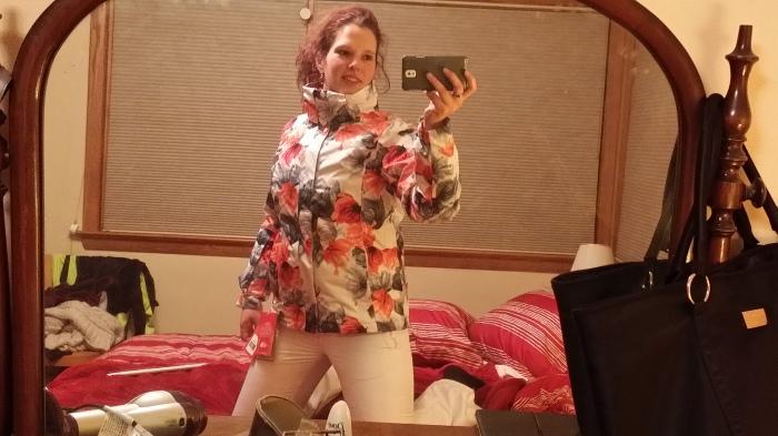 Mijn nieuwe ski-kleren