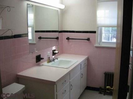 Lelijke badkamer