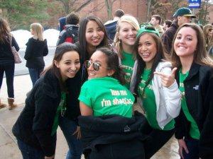 State Patty's Day - iedereen in het groen