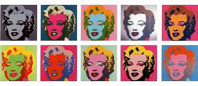 De klassieke 'Marilyn Monroe' afbeeldingen van Andy Warhol - pop art op z'n best