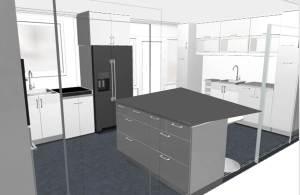 Het keukenontwerp