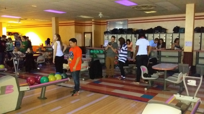 Bowling met de Out and About groep