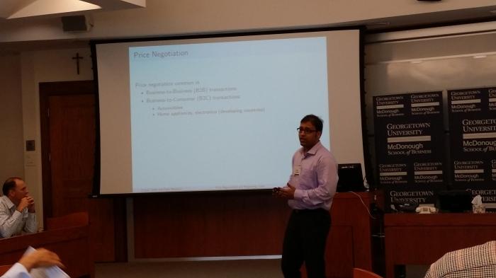 Pranav's presentatie op de MARC conferentie - hij deed het echt supergoed!