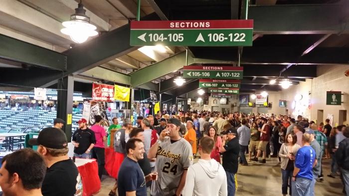 Gezellige drukte op het Brewfest in Altoona