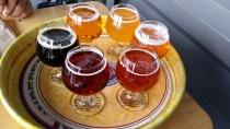Beer flights - kleine glaasjes om te proeven