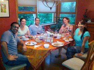 De Monthly Dinner Club crew!