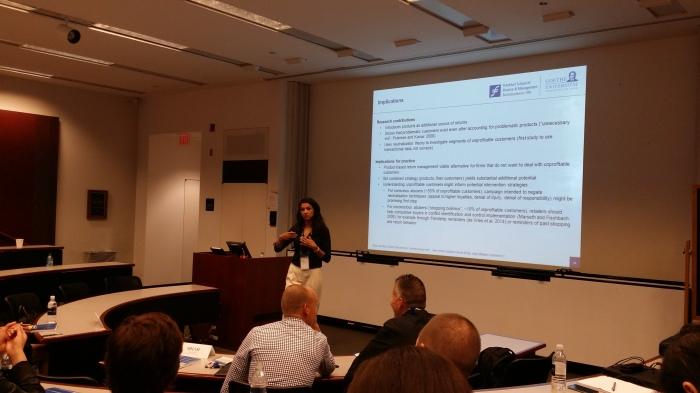 Presentatie op Marketing Science