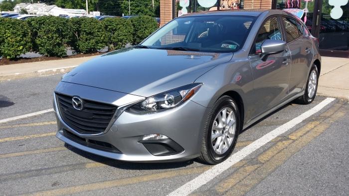 Deze Mazda3 had ik uitgezocht voor een proefrit