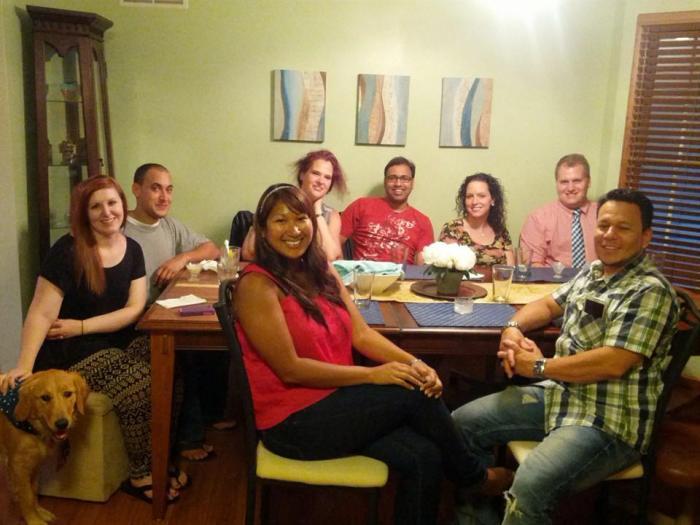 Dinner Club bij Philip en Lauren