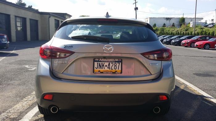 De kont van de nieuwe Mazda3