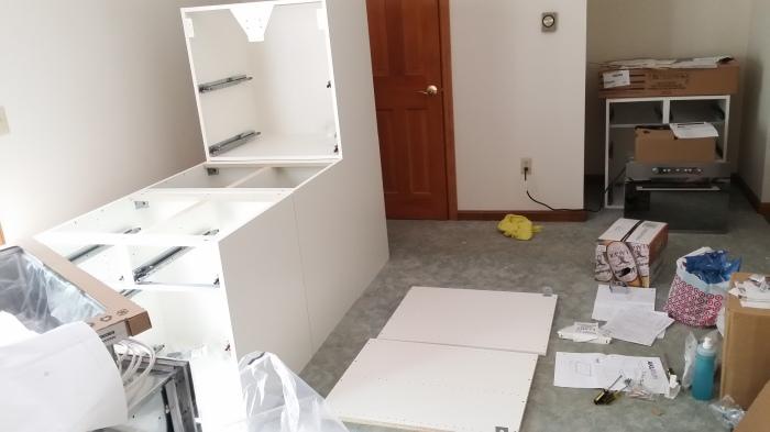 Mijn IKEA kastjes-productie-straat