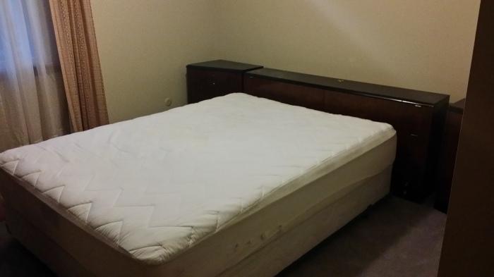 Ik heb een bed!