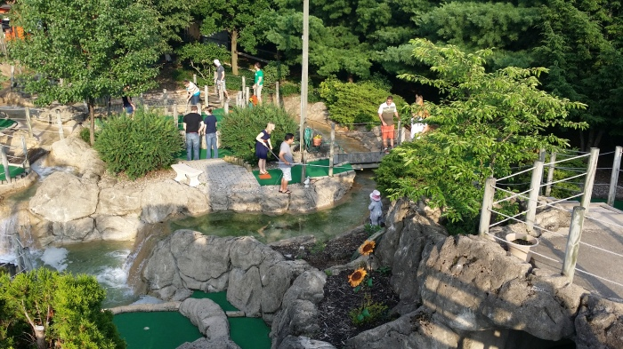 De Happy Valley Minigolf!