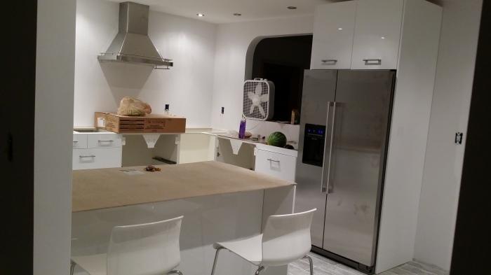 De keuken zoals ie nu is...