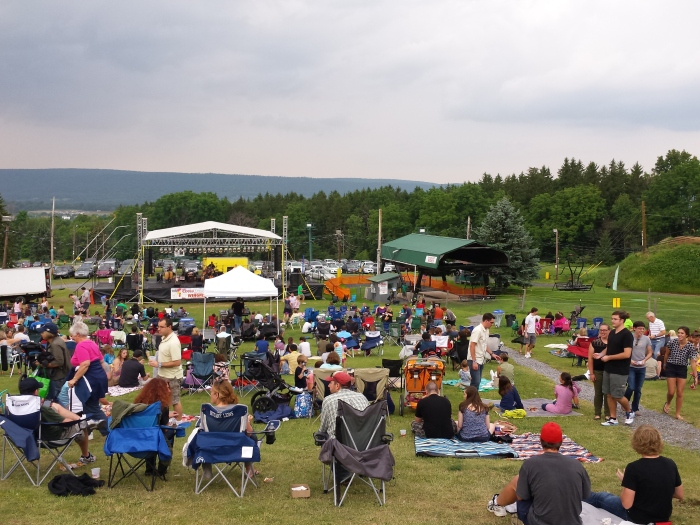 Wingfest op Tussey Mountain