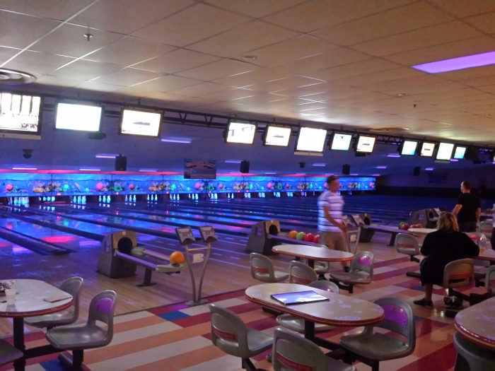 Bowling tijdens de family friendly bar tour!