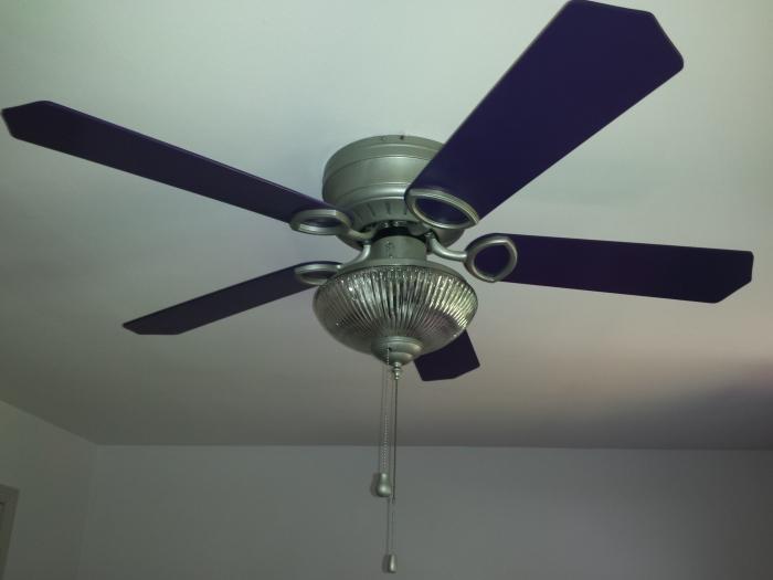 De ventilator, bijna weer als nieuw
