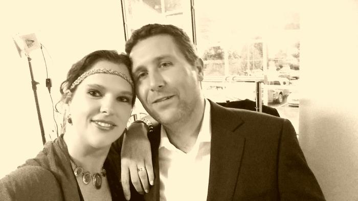 Michiel en ik terug naar de twintiger jaren