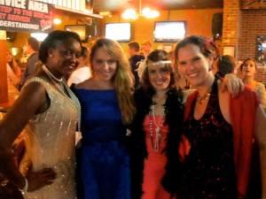 Reni, Elise, Meghan en ik