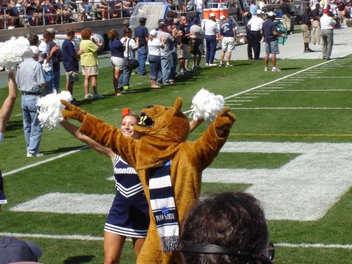 De mascotte van Penn State