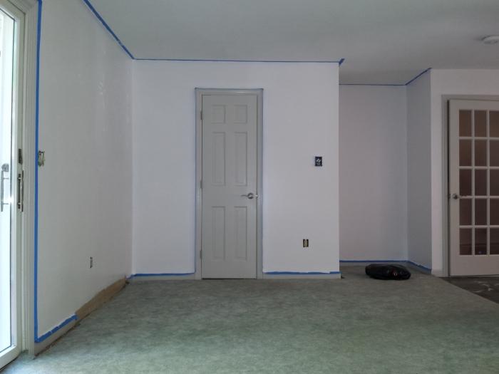 Deuren, plafond en muren ook weer netjes