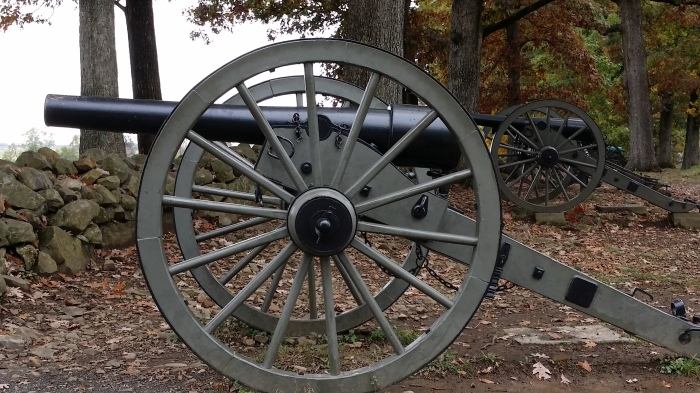 Een kanon, type 'Napoleon'