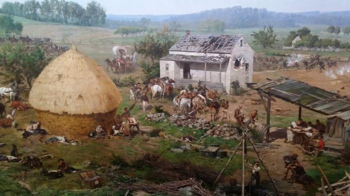 Detail van het Cyclorama