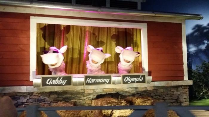 Zingende roze koeien