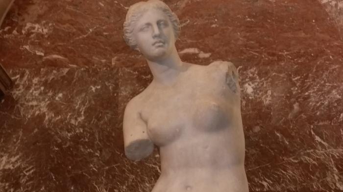Venus de Milo in het Louvre