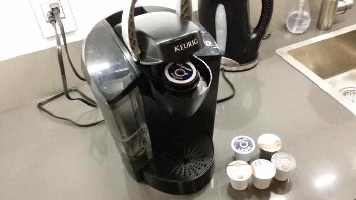 Ons koffiezetapparaat van Keurig