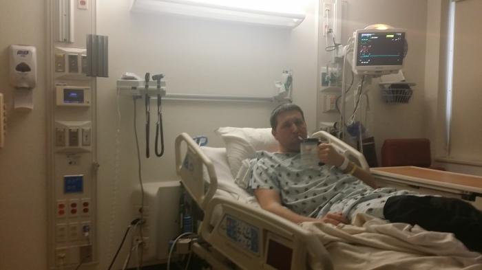 Op de intensive care unit... volledig verzorgd