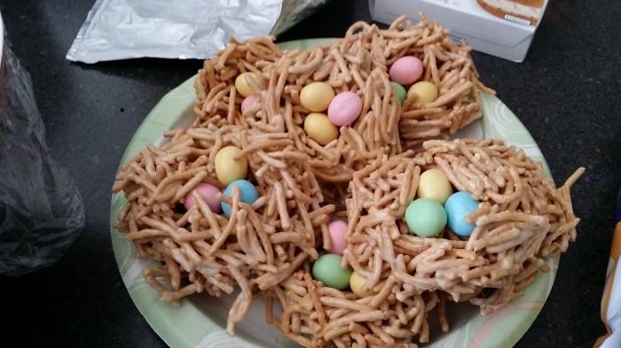 Nesten met eieren