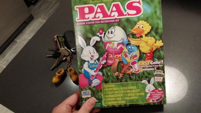 Amerikaanse eieren geef je een kleurtje met PAAS!