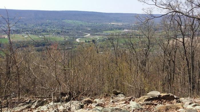 Nog een uitzicht vanaf Mount Nittany