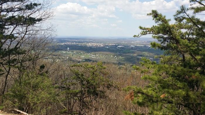 Uitzicht vanaf de Mount Nittany