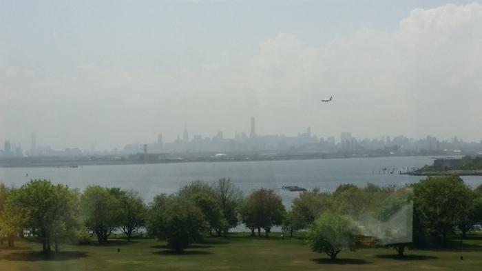 De skyline van Manhattan - we komen er nog wel eens!