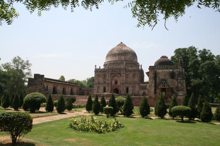 Lodhi Garden - deel van de moskee