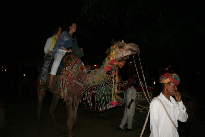 Jess en ik op een kameel