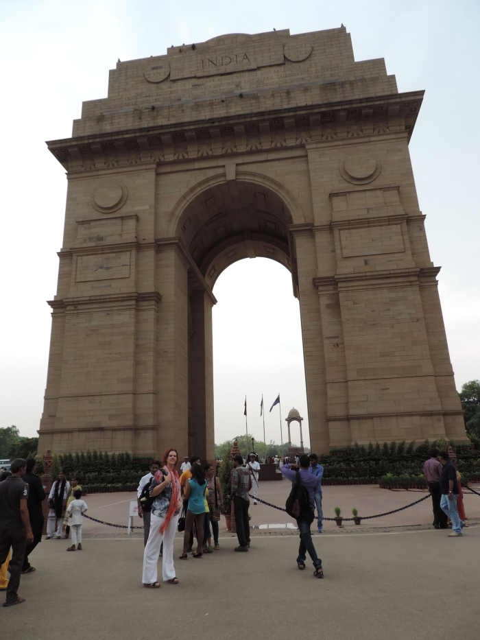 India gate - de Indiase Arc de Triomphe