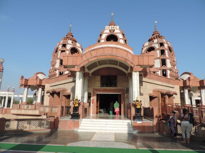 De Iskcon tempel