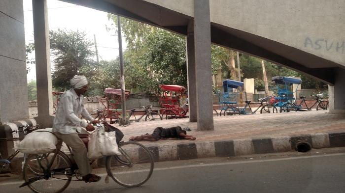 Armoede langs de weg